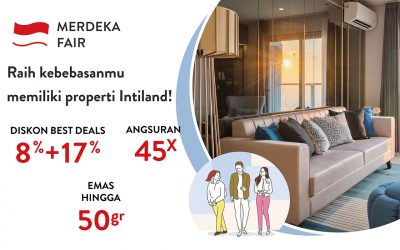 Apartment Intiland Merdeka Fair Promo