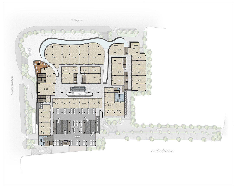 apartment-hotel-modern-office-mall-mewah-surabaya-2DDR Denah Praxis 2nd Floor 2019(2)