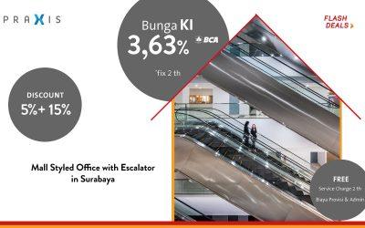 Mall Styled Office with Escalator in Surabaya