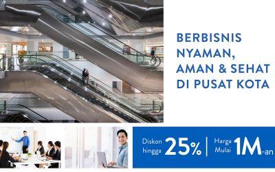 Berbisnis Aman, Nyaman, dan Sehat di Pusat Kota Surabaya