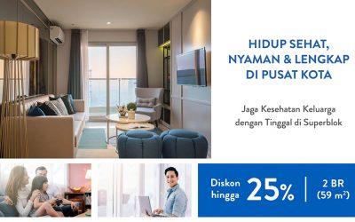 Hidup sehat, nyaman, dan lengkap di pusat Kota Surabaya