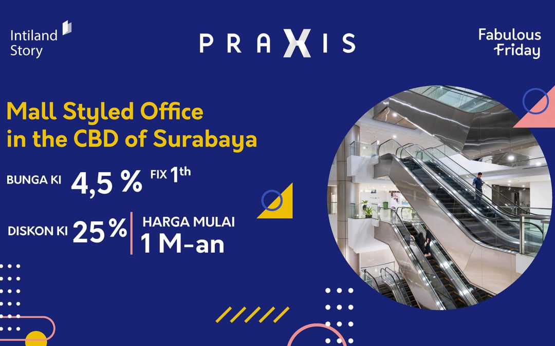 Mall Styled Office in the CBD of Surabaya
