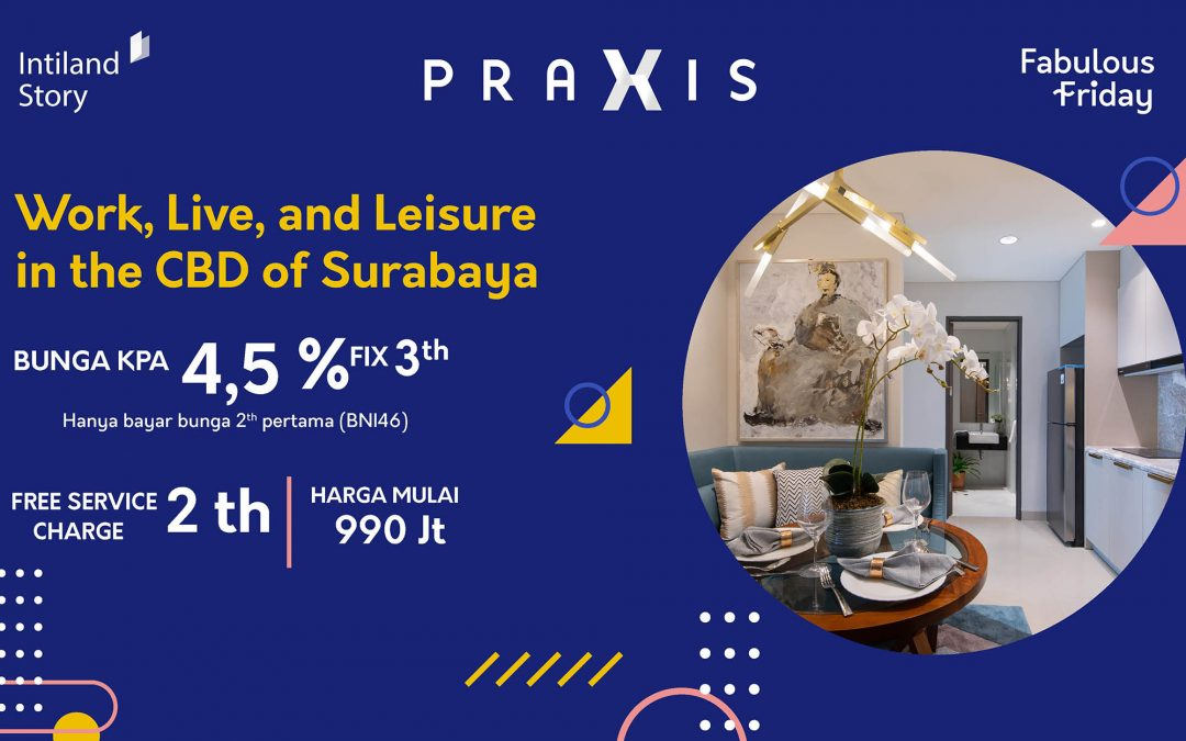 Work, Live, and Leisure in the CBD of Surabaya